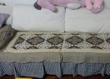 (小)三人布艺沙发出售100元