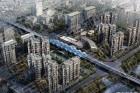 嘉定新城商业设施系列报道——白银路地铁站