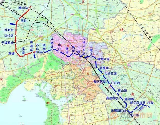 无锡地铁三号线-嘉定或可坐11号线去苏州市中心 初步规划方案出炉图片